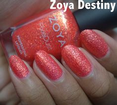 Zoya Destiny nail polish