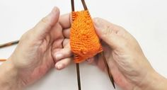 VERY EASY cast on for toe-up socks