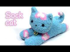 Coisas que Gosto: DIY crafts: SOCK CAT - Innova Crafts