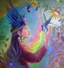 Resultado de imagen de mujeres chamanas