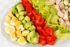 Clean-Eating Cobb Salad