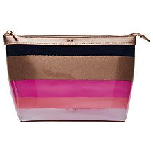Buy Ted Baker Daewinn Marina Mosaic Wash Bag, Navy Online at johnlewis.com