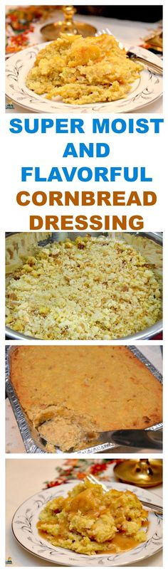 French Delicacies Essentials - Some Uncomplicated Strategies For Newbies Super Moist Simple And Flavorful Cornbread Dressing This Is A Must Side Dish Recipe For Your Holiday Table Including Thanksgiving, Christmas, And Easter. Print Recipe Here: Vegan Bbq Recipes, Cooking Recipes, Barbecue Recipes, Cooking Ideas, Thanksgiving Recipes, Holiday Recipes, Vegetarian Thanksgiving, Family Thanksgiving, Winter Recipes