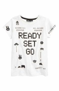 Boys' Clothing: Hoodies, Shirts, Pants & T-Shirts Gamer Shirt, Kids Fashion Boy, Boys T Shirts, Kids Wear, Toddler Boys, Printed Shirts, Boy Outfits, Big Boys, Smart Buy