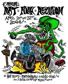 being that Rat Fink is not in the car.......