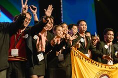 The opening round award ceremony for #EnactusWorldCup.