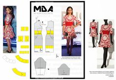 ModelistA: A4 NUM 0063 DRESS