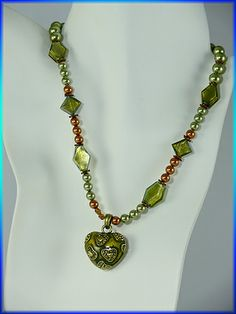Freshwater Pearl Necklace with Murano Glass Beads