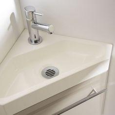 Lave main sur pinterest meuble lave main lave main wc et pack wc suspendu - Meuble d angle salle de bain ikea ...