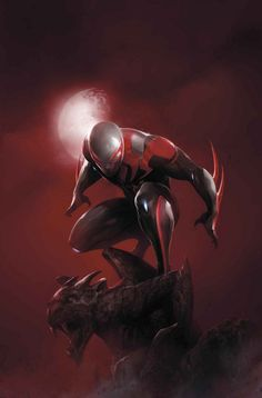 SPIDER-MAN 2099 #10. Cover by FRANCESCO MATTINA.