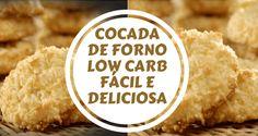 A cocada de forno low carb é uma receita simples muito fácil de fazer e deliciosa totalmente low carb é mais uma para aquele momento louco por um docinho!
