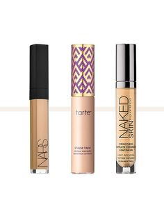 7 of the Best Under-Eye Concealers That Won& Crease Tired of cakey concealers when you're trying to hide dark circles? We've rounded up seven under-eye concealers that will fix that. Concealer For Dark Circles, Dark Circles Under Eyes, Contour, Under Eye Creases, Beste Concealer, Concealer Brush, Best Under Eye Concealer, Under Eye Highlighter, Dark Eye Makeup