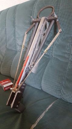 Spring powered Crossbow#Meine erste Armbrust