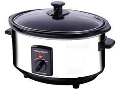 Morphy Richards Ovale Mijoteuse l en acier inoxydable poli Slowcooker Slow Cooking, Morphy Richards Slow Cooker, Frugal Meals, Easy Meals, Slow Cooker Recipes, Crockpot Recipes, Large Crock Pot, Multicooker, Cooking Appliances