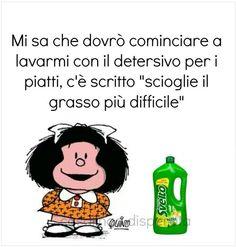 Mafalda se non soffri di allergie!!!