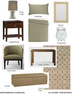 jill seidner | interior design: concept boards | new home