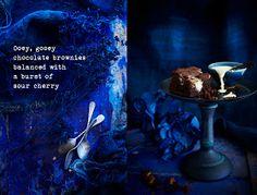 Best ever Fudge Brownies mit Sauerkirschen und weißer Schokolade Brocken