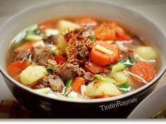 Sup sapi berempah