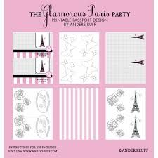 Passport Party Invitation Template  Sweet  Party