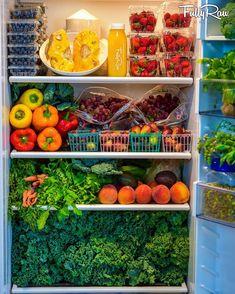 Healthy Fridge, Healthy Life, Healthy Living, Healthy Detox, Fridge Organization, Recipe Organization, Organized Fridge, Organizing, Raw Food Recipes