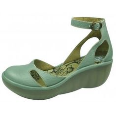 Fly London Bessie Pale Green Wedge Just got my first pair of Fly London...love em. Comfortable & cute. £79.95