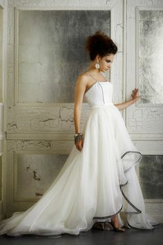 High-low dress by Della Giovanna
