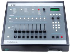 The was THE drum machine & sampler combo of legendary status among old school rap and hip hop artists from the eighties and nineties Music Production Equipment, Recording Equipment, Dj Equipment, Studio Equipment, Vintage Synth, Vintage Drums, Music Machine, Drum Machine, Dream Music