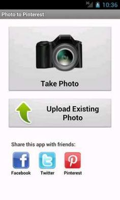 Photo to Pinterest app for Android- Alternative pic 1