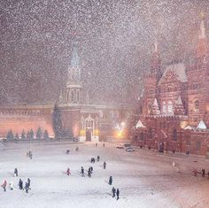 Зима  в  Москве . фото, пейзаж, зима, Москва, Красная площадь, снег