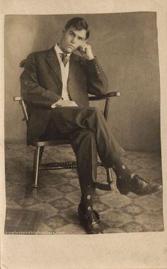 Gentlemen | Bowlers And High Collars | Page 2 American Card, Victorian Men, Patterned Socks, High Collar, Vintage Men, Gentleman, Collars, Handsome