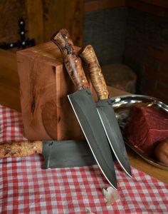 Custon handmade knife Peremský