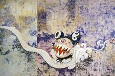 727      Takashi Murakami      1996      300×450 cm      Acrylic on canvas mounted on board      Collection : David Teiger