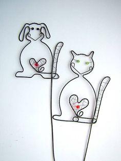 ZUDOS / pes a mačka zápich