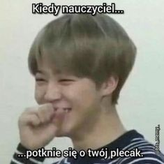 Polish Memes, Funny Mems, Happy Photos, I Love Bts, Just Smile, My Hero Academia Manga, Wtf Funny, Reaction Pictures, Funny Moments