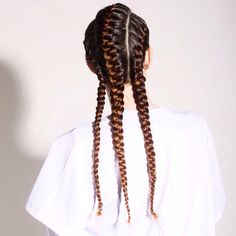Three braid cornrow