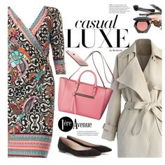 Casual Look by Joseph Ribkoff by beebeely-look on Polyvore featuring Chicwish, Chloé and H&M