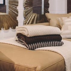 Snuggle up with one of our super soft fine lambs wool throws this winter, shop online http://www.boydblue.com