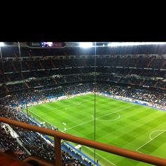 Spain, Real Madrid's soccer stadium - best sports stadium ever!