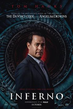 When Robert Langdon wakes up in an Italian hospital with amnesia, he teams up with Dr. Sienna Brooks, and together they must race across Europe against the clock to foil a deadly global plot.#Inferno #DanBrown #TomHanks #Movies #DaVinci