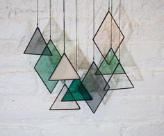 Glass Art Stained Glass Those in Glass Houses... Handmade Childhoods: The Blog by Fleur + Dot HandmadeChildhoods.com Fashion | Fun | Decor | DIY | Play