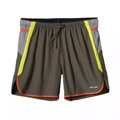 """Patagonia 5"""" minimalist shorts with tons of stash pockets"""