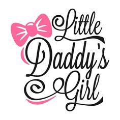 Daddy's Girl Graveerbare Design