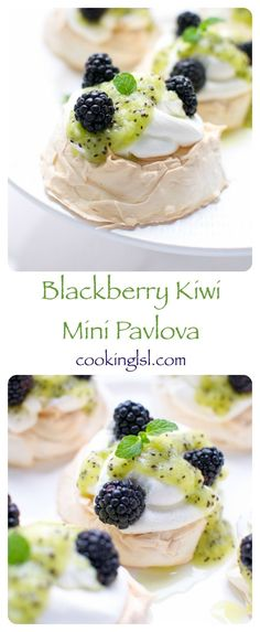Blackberry-Kiwi-Mini-Pavlova-recipe