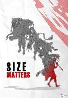 FF7 parody - Size Matters by DavyWagnarok
