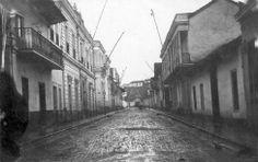 Calle Huérfanos 1864
