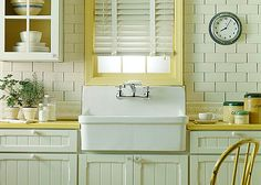 When I strike it rich, I will revamp my kitchen to include a farmhouse sink.
