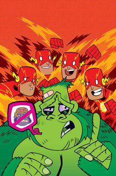 THE FLASH #42 Teen Titans Go! Variant Cover