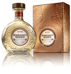 Beefeater BurroughsReserve - The Dieline -