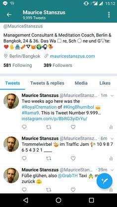 Tweet 9.999 Schnapszahl Meditation, Management, Life, Schnapps, Zen