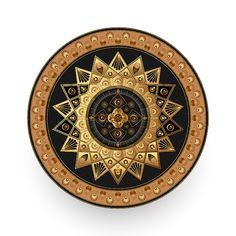 Circumplexical No 3513 by Alan Bennington Mandala Pattern, Mandala Design, Mandala Art, Art Prints For Sale, Caftans, Design Thinking, Beautiful Patterns, Pattern Wallpaper, Fractals